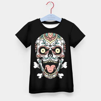 Thumbnail image of Mexican Skull Kid's t-shirt, Live Heroes