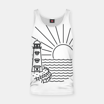 Miniaturka Lighthouse and Sunset Tank Top, Live Heroes