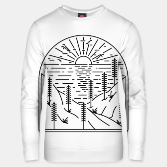 Thumbnail image of Beauty Cliffs Unisex sweater, Live Heroes