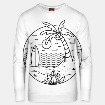 Thumbnail image of Surf and Beach Unisex sweater, Live Heroes