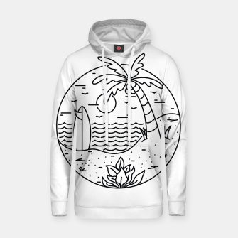 Thumbnail image of Surf and Beach Hoodie, Live Heroes