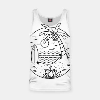 Miniaturka Surf and Beach Tank Top, Live Heroes