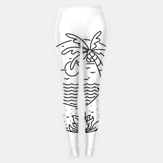 Thumbnail image of Surf and Beach Leggings, Live Heroes