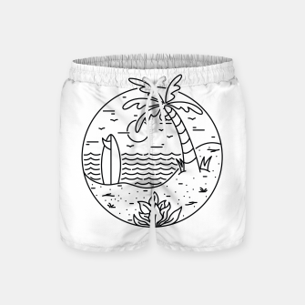 Thumbnail image of Surf and Beach Swim Shorts, Live Heroes