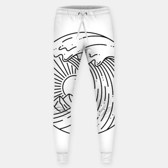 Miniatur Best Wave Sweatpants, Live Heroes