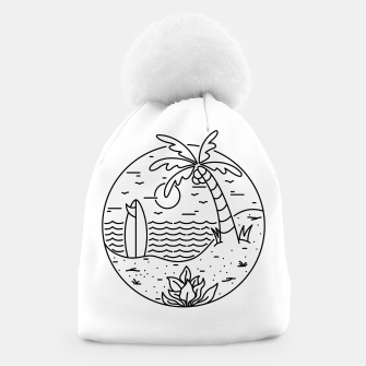 Thumbnail image of Surf and Beach Beanie, Live Heroes