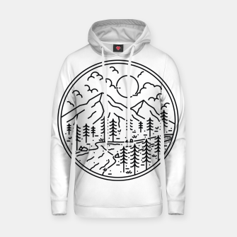 Miniatur River and Mountain Hoodie, Live Heroes
