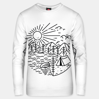 Thumbnail image of Camping Lake Unisex sweater, Live Heroes