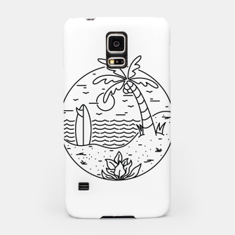 Thumbnail image of Surf and Beach Samsung Case, Live Heroes