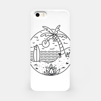 Thumbnail image of Surf and Beach iPhone Case, Live Heroes