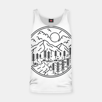 Miniature de image de River and Mountain Tank Top, Live Heroes