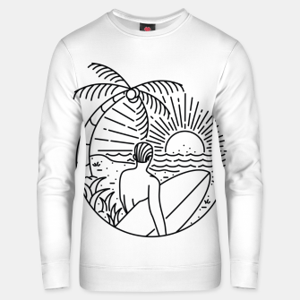 Thumbnail image of It's Time to Surf Unisex sweater, Live Heroes