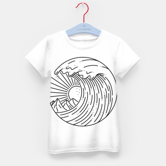 Miniature de image de Best Wave Kid's t-shirt, Live Heroes