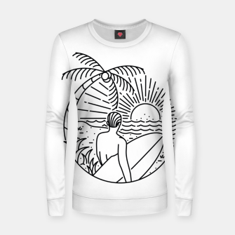Miniature de image de It's Time to Surf Women sweater, Live Heroes