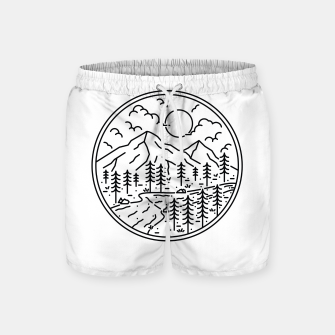 Miniature de image de River and Mountain Swim Shorts, Live Heroes