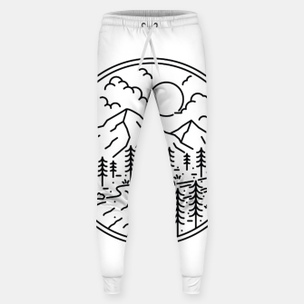 Miniatur River and Mountain Sweatpants, Live Heroes
