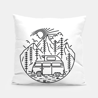 Miniatur Van and Nature Pillow, Live Heroes