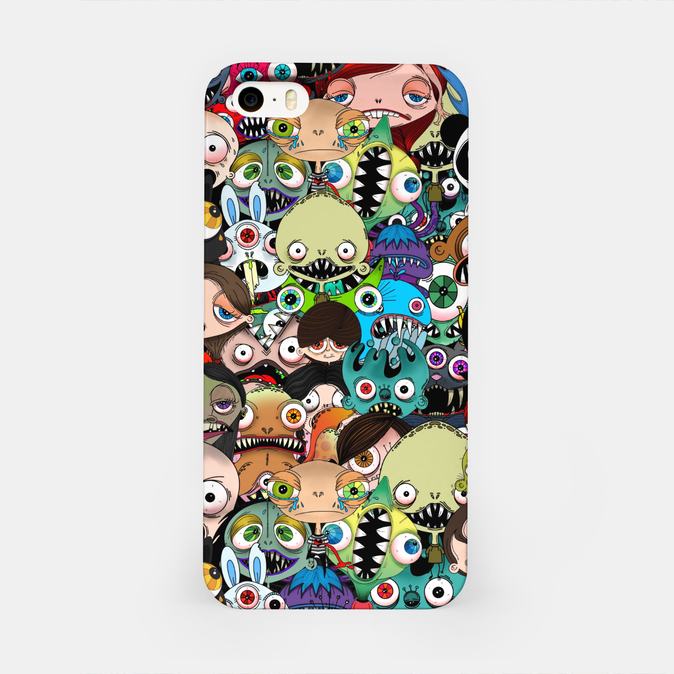 Image of salpicon iPhone Case - Live Heroes