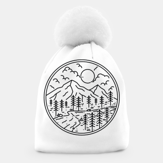 Miniatur River and Mountain Beanie, Live Heroes