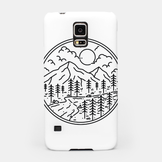Miniatur River and Mountain Samsung Case, Live Heroes