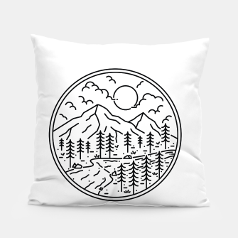 Miniatur River and Mountain Pillow, Live Heroes