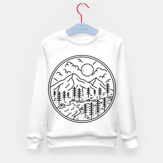 Miniatur River and Mountain Kid's sweater, Live Heroes