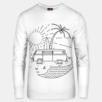 Thumbnail image of Van and Beach Unisex sweater, Live Heroes