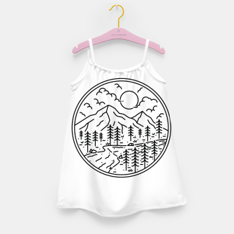 Miniatur River and Mountain Girl's dress, Live Heroes