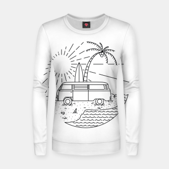 Thumbnail image of Van and Beach Women sweater, Live Heroes