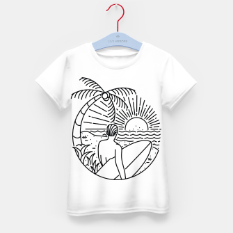 Thumbnail image of It's Time to Surf Kid's t-shirt, Live Heroes