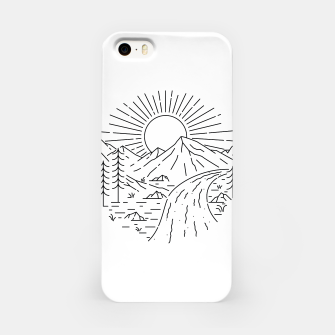 Miniatur River iPhone Case, Live Heroes
