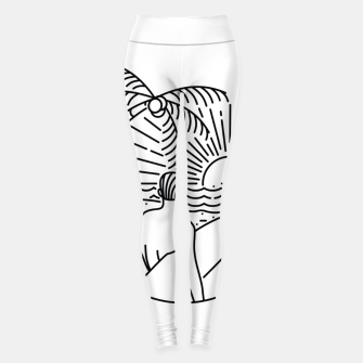 Thumbnail image of It's Time to Surf Leggings, Live Heroes
