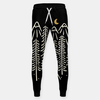 Miniatur Night Camping Sweatpants, Live Heroes