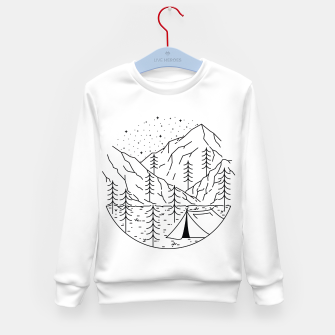 Miniatur Camping Kid's sweater, Live Heroes