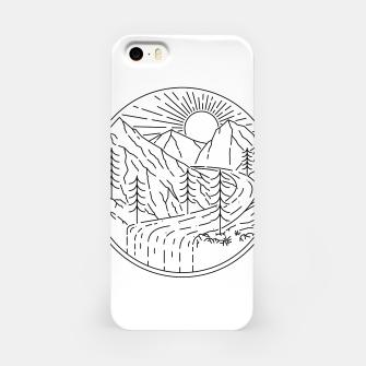 Miniatur Waterfall iPhone Case, Live Heroes