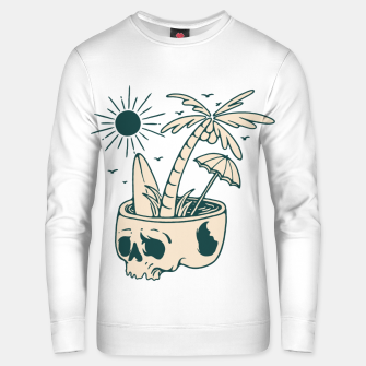 Thumbnail image of Skull Summer Unisex sweater, Live Heroes