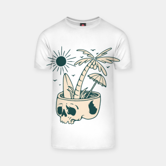 Thumbnail image of Skull Summer T-shirt, Live Heroes
