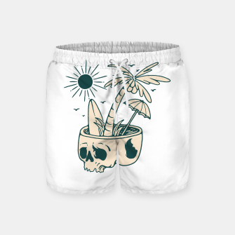 Thumbnail image of Skull Summer Swim Shorts, Live Heroes