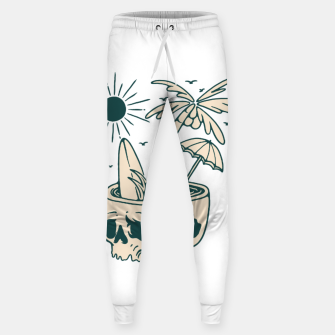 Thumbnail image of Skull Summer Sweatpants, Live Heroes