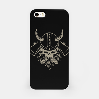 Miniatur Viking iPhone Case, Live Heroes
