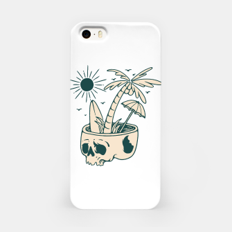 Miniatur Skull Summer iPhone Case, Live Heroes