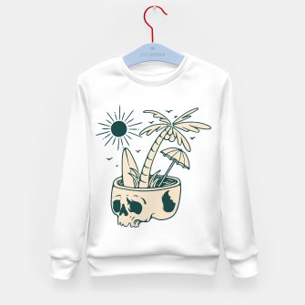 Thumbnail image of Skull Summer Kid's sweater, Live Heroes