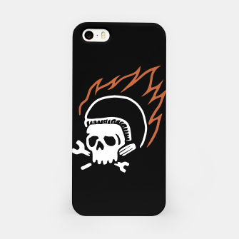 Thumbnail image of Biker Fire iPhone Case, Live Heroes