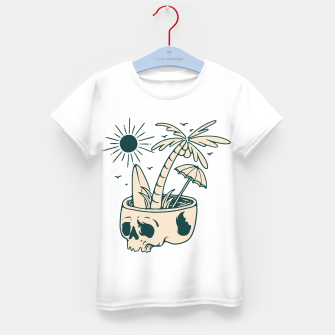 Thumbnail image of Skull Summer Kid's t-shirt, Live Heroes