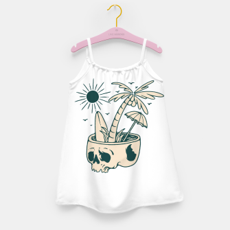 Thumbnail image of Skull Summer Girl's dress, Live Heroes