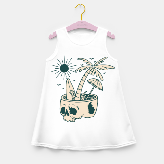 Thumbnail image of Skull Summer Girl's summer dress, Live Heroes