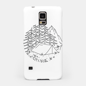 Miniatur Camping Samsung Case, Live Heroes