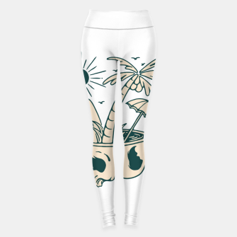 Thumbnail image of Skull Summer Leggings, Live Heroes