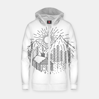 Thumbnail image of Home Sweet Home Zip up hoodie, Live Heroes
