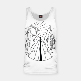 Thumbnail image of Indian  Camp Tank Top, Live Heroes